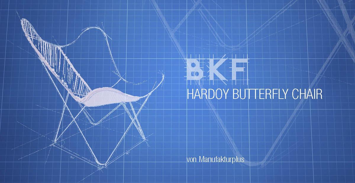 Original Schmetterlingstuhl von Manufakturplus