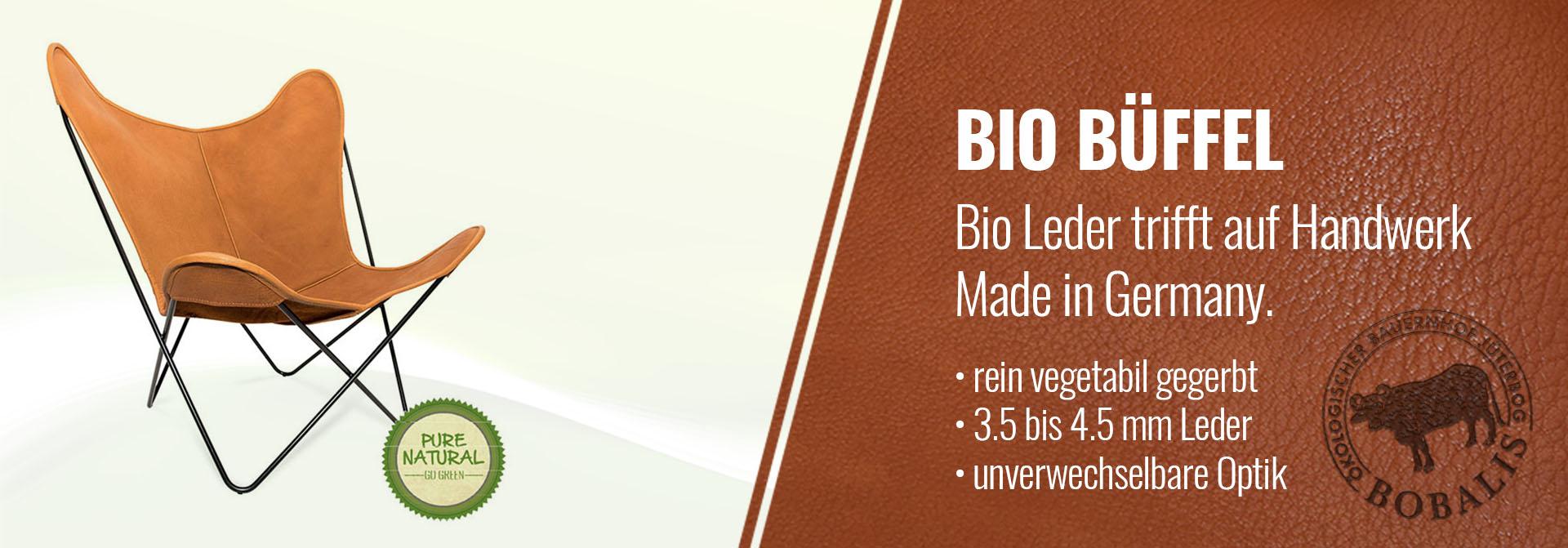 Bio Büffel Leder
