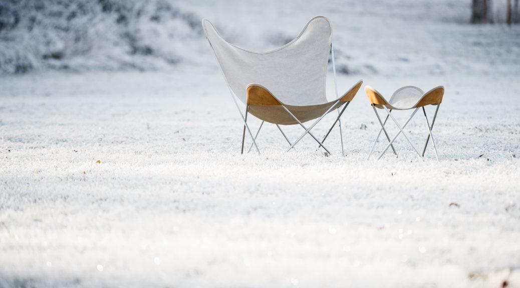 Hardoy Leinen im Schnee