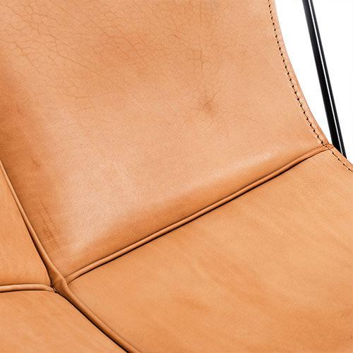 Sattelleder Material Textur