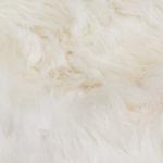 Schaffell Weiß 50 mm