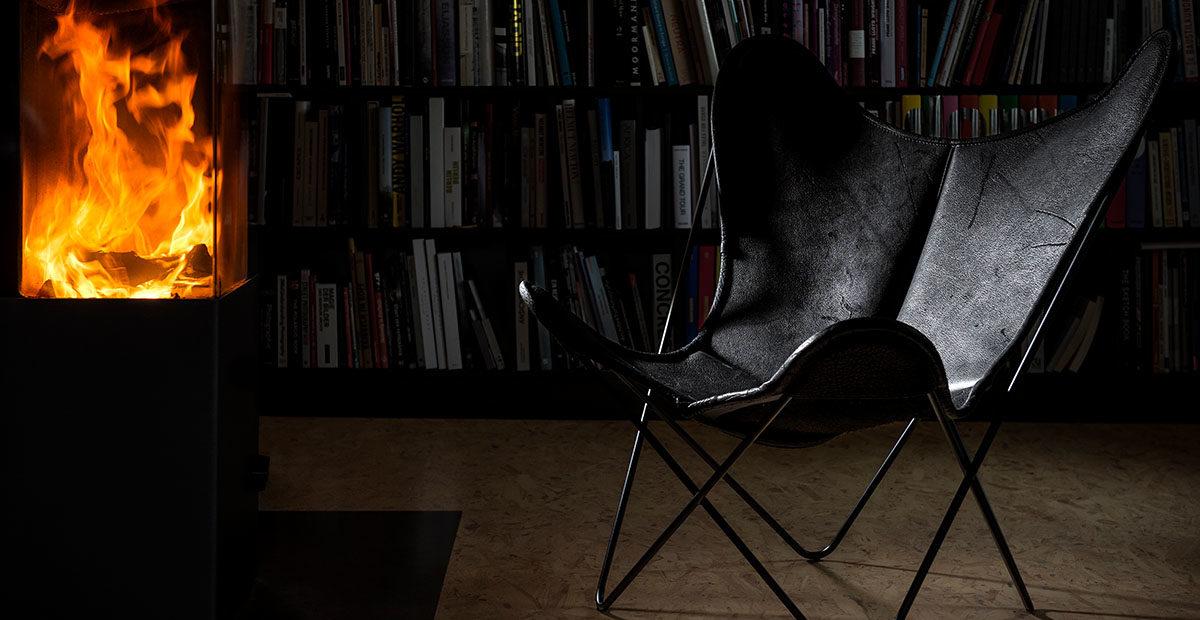 Pure Wild Biobüffel-Leder | Hardoy Butterfly Chair