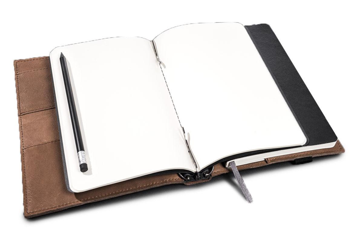 MALUMA Notebook Organizer Leder
