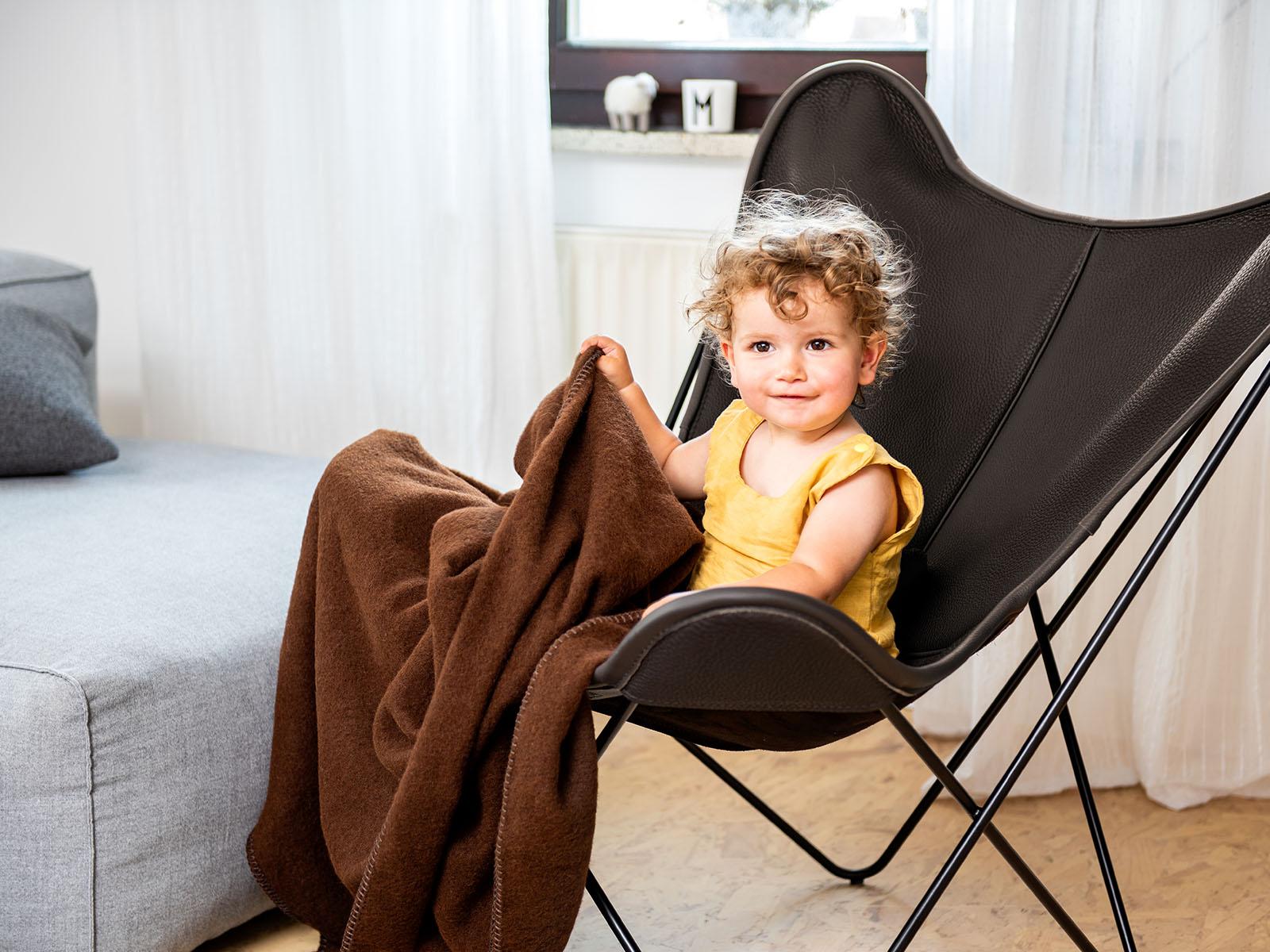 Neck-Leder mit Decke